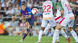 FC Barcelona 3 - Alavés 0 (3 minuts)