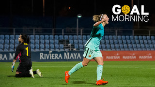 Goal Morning! We celebrate Women's Day with Barbara Latorre's goal