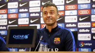FC Barcelona manager Luis Enrique calls on Camp Nou support to make the difference