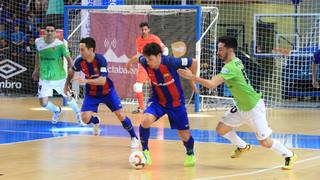 Palma Futsal 1 - FC Barcelona Lassa 1