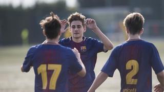 Los cinco mejores goles de la semana en La Masía