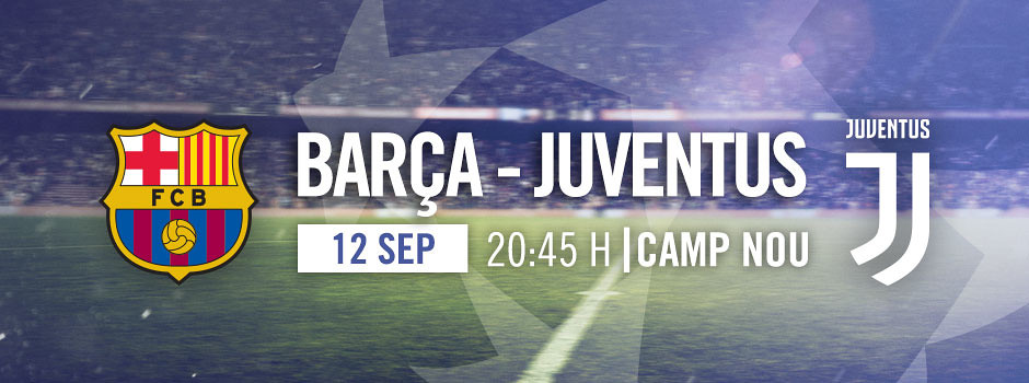 Resultado de imagen de fc barcelona vs juventus escudo nuevo