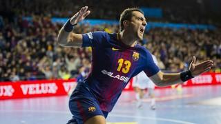 FC Barcelona Lassa edges reigning champs HC Vardar, 29-28