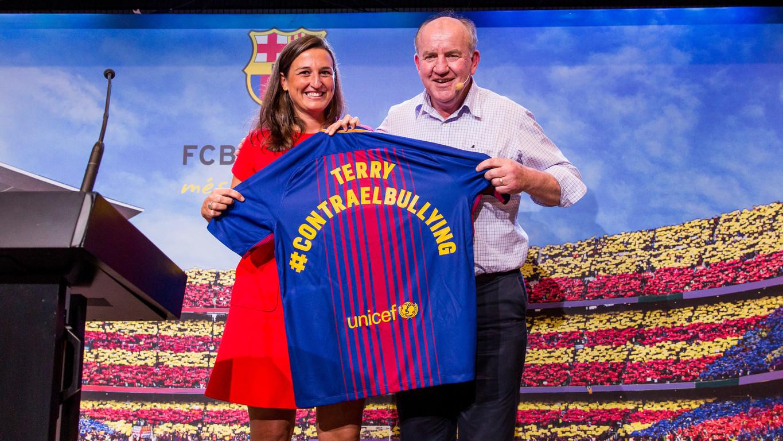 La Fundación FC Barcelona acoge la primera de estas sessones formativas en el Auditori 1899 del Camp Nou