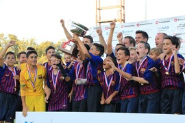 U14B team win Junior Soccer World Challenge in Japan