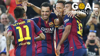 Start the day off with this goal from Xavi Hernández