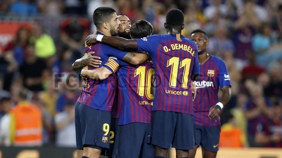 صور مباراة : برشلونة - جيرونا 2-2 ( 23-09-2018 )  99533863