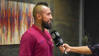 Arturo Vidal: 'I am happy, I want to win everything'