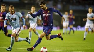 Celta 1 - FC Barcelona 1 (3 minutes)