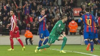 FC Barcelona 6 - Sporting de Gijón 1 (1 minut)