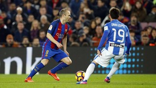 Andrés Iniesta reaches 400 league games for FC Barcelona