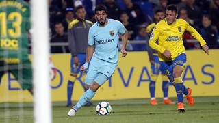 Las Palmas 1 - FC Barcelona 1 (1 minut)