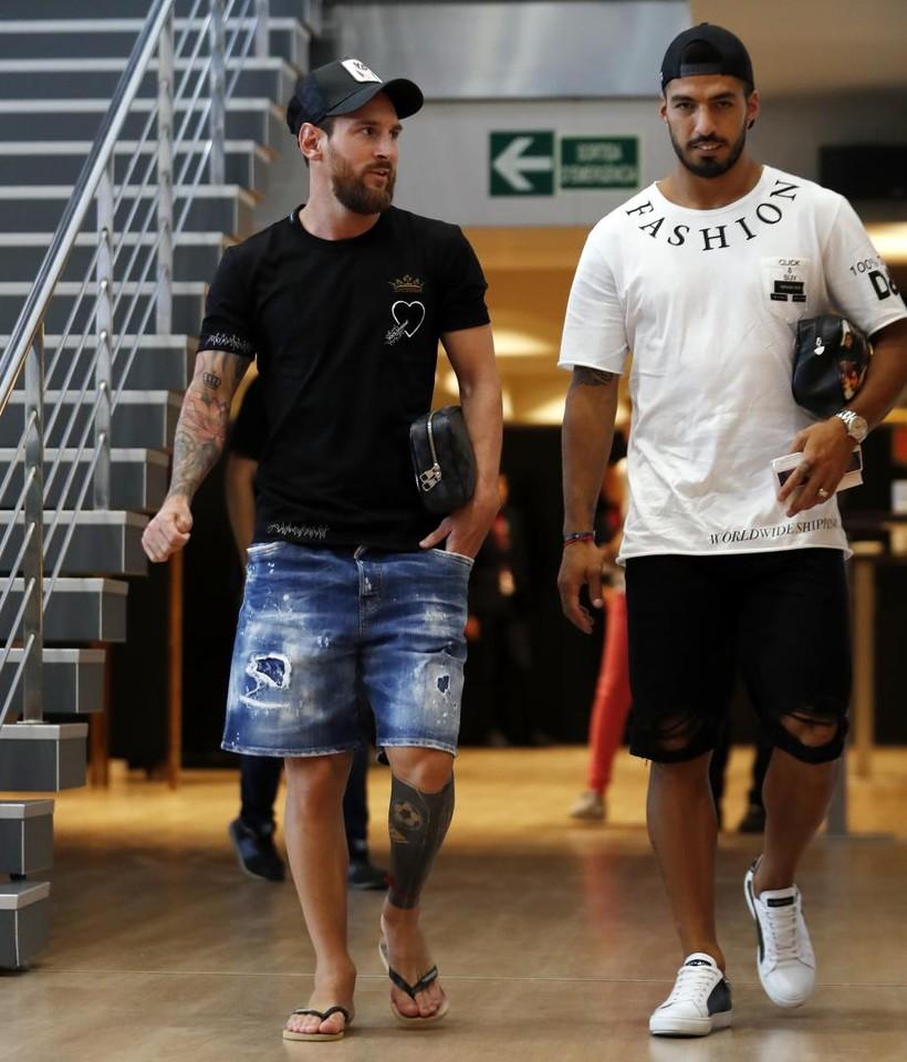 صور مباراة : برشلونة - بوكا جونيورز ( 16-08-2018 )  96023848