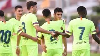 Golejada blaugrana en el debut de Wague (0-6)
