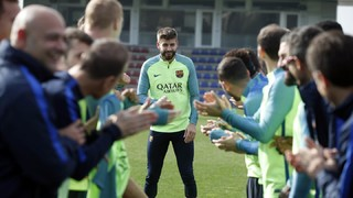 Team wishes Piqué a happy 30th birthday