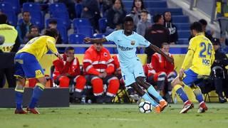 Las Palmas 1 - FC Barcelona 1 (3 minutos)