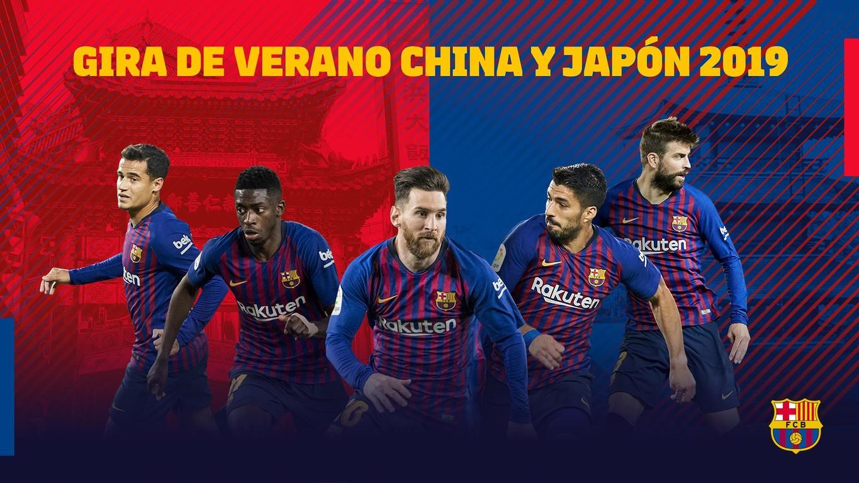 El primer equipo visitará China y Japón durante la pretemporada para fidelizar a sus fans asiáticos tras dos años consecutivos viajando a los Estados Unidos