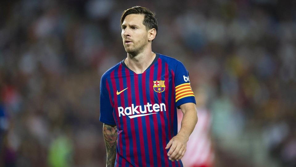 Leo Messi Chosen For The Th Time In The Fifa Best Starting Xi Of The