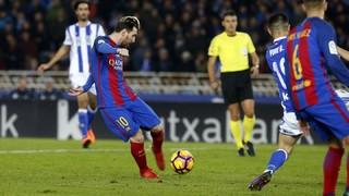 Reial Societat 1 - FC Barcelona 1 (1 minut)
