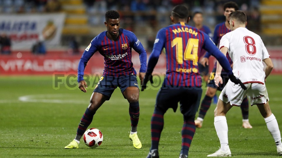 صور مباراة : كولتورال ليونيسا - برشلونة 0-1 ( 31-10-2018 ) كأس ملك إسبانيا 101924394