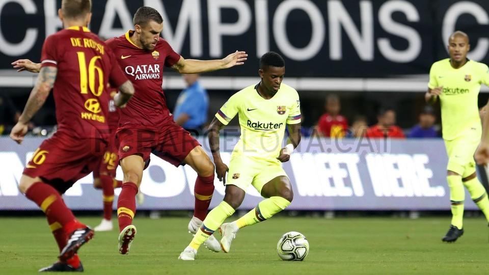 صور مباراة : برشلونة - روما 4-2 ( 01-08-2018 )  95179818