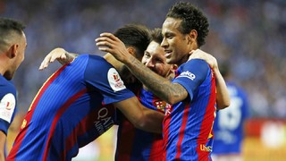 Enjoy all the best moments from the Copa del Rey final and the goal from Messi, Neymar and Alcácer which hand the blaugranes a 29th win in the competition