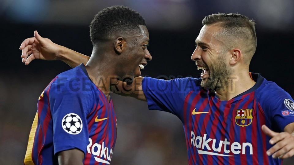 صور مباراة : برشلونة - PSV إندهوفن 4-0 ( 18-09-2018 )  98901803