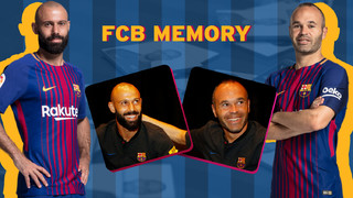Memory test, Mascherano v Iniesta: Who will be the quickest?