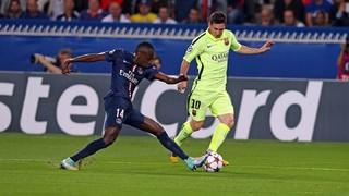 Paris Saint Germain 3 - FC Barcelona 2 (3 minutos) (fase de grupos 2014-15)