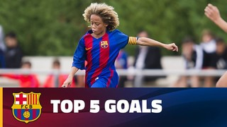 The best Masia teams' goals (4-5 march 2017)