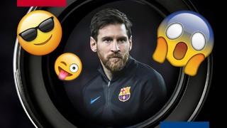Ver a Leo Messi entrenar es un espectáculo