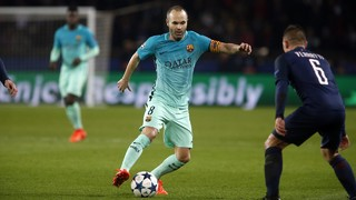 PSG 4 - FC Barcelona 0 (1 minute)