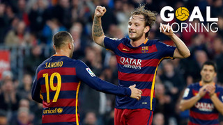 ¡Goal Morning! Today we wake up with this great goal by Ivan Rakitic