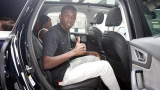 Dins del cotxe amb… Ousmane Dembélé