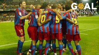 GOAL MORNING!! El gol de Samuel Eto'o vs Celta de Vigo! El Barça guanya aquell dia la Lliga 2005/2006