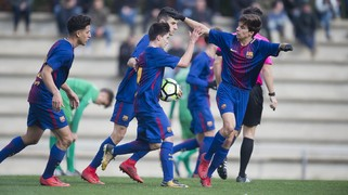FC Barcelona U19A - Cornellá: A draw at home (1-1)