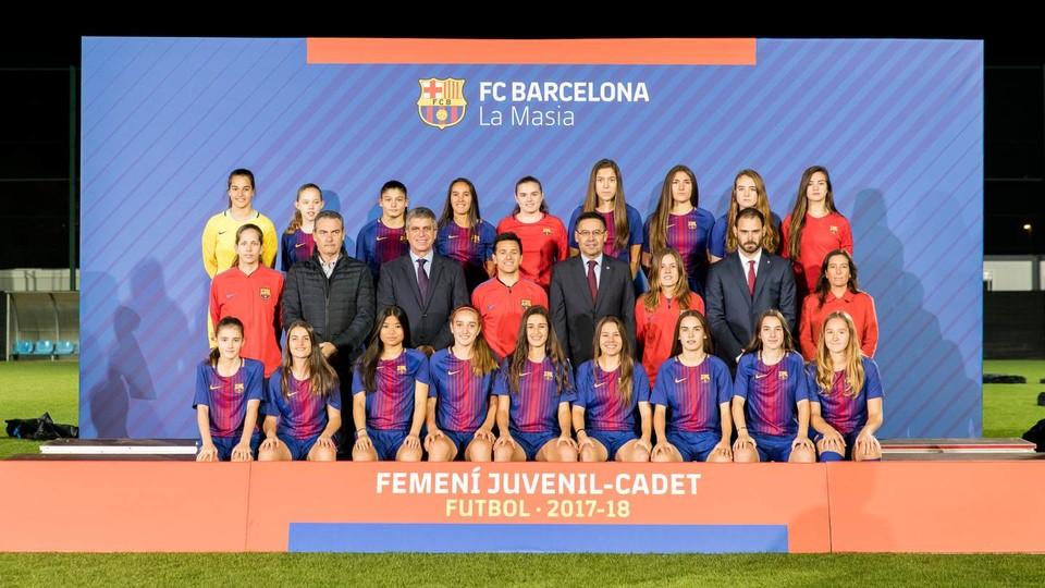 FC Barcelona – Juvenil-Cadet Femenino - 2017/2018 - FC Barcelona