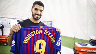 Suárez visits the Houston Texans, too