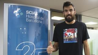 Pierre Oriola, intensitat i lluita per al Barça Lassa