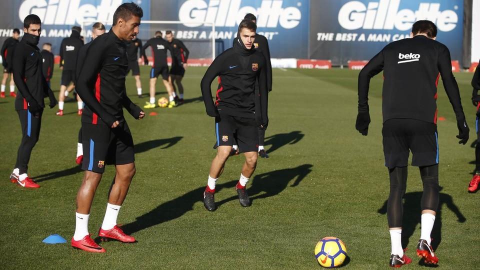61700398 El Barcelona ya prepara el partido ante el Celta - Comunio-Biwenger