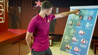 Can Lenglet remember where his countrymen played before joining Barça?