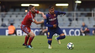Barça B - Real Zaragoza: Cierran la temporada con una derrota (0-2)