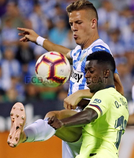 صور مباراة : ليغانيس - برشلونة 2-1 ( 26-09-2018 ) 99848495