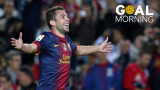 Goal Morning! A great goal with Iniesta, Villa and Jordi Alba