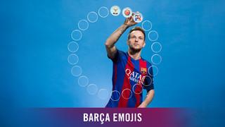 Barça emojis: Rakitic