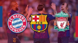 Barça, Liverpool, and Bayern Munich are the only major European clubs who are a perfect six for six thus far across all competitions