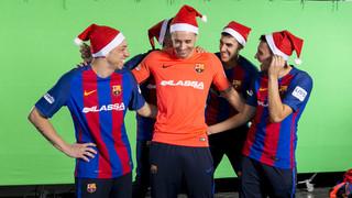Christmas 2016: futsal first team. Sharin happiness.