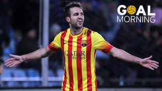 Goal Morning! Cesc Fàbregas against Getafe