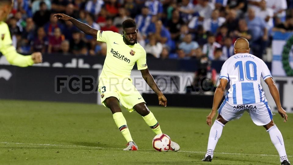 صور مباراة : ليغانيس - برشلونة 2-1 ( 26-09-2018 ) 99786033