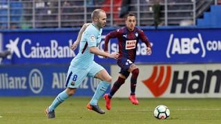 Eibar 0 - FC Barcelona 2 (3 minutos)